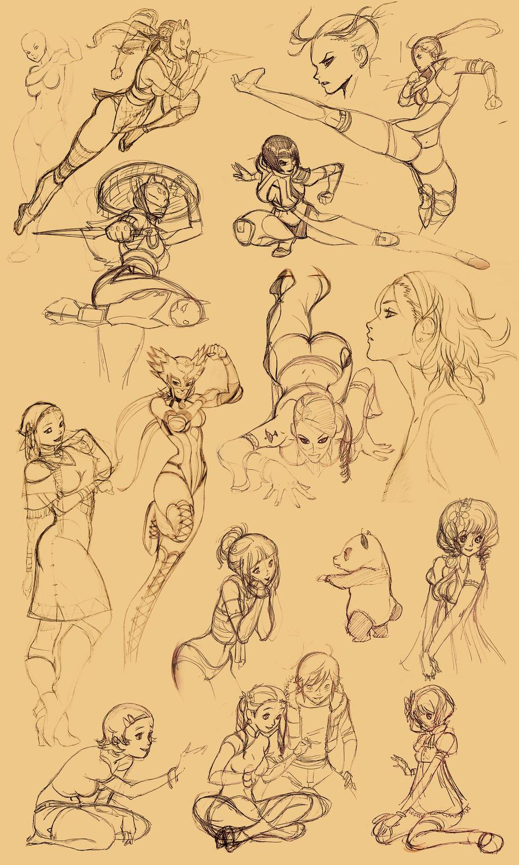 Tekken Girls random by Seeso2D