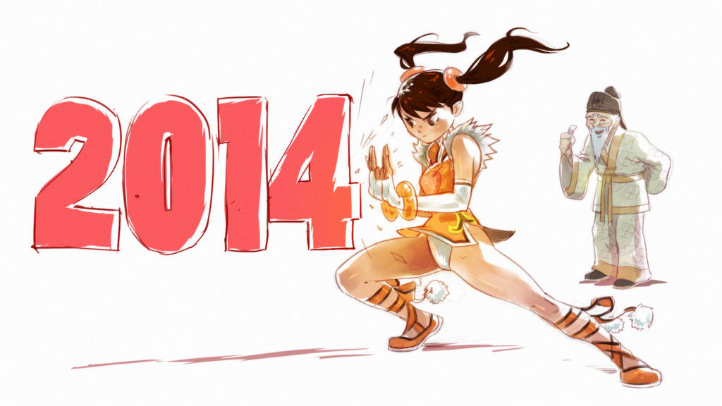 Happy New Year by Seeso2D