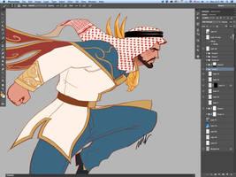 Shaheen Tekken 7 poster by Seeso2D