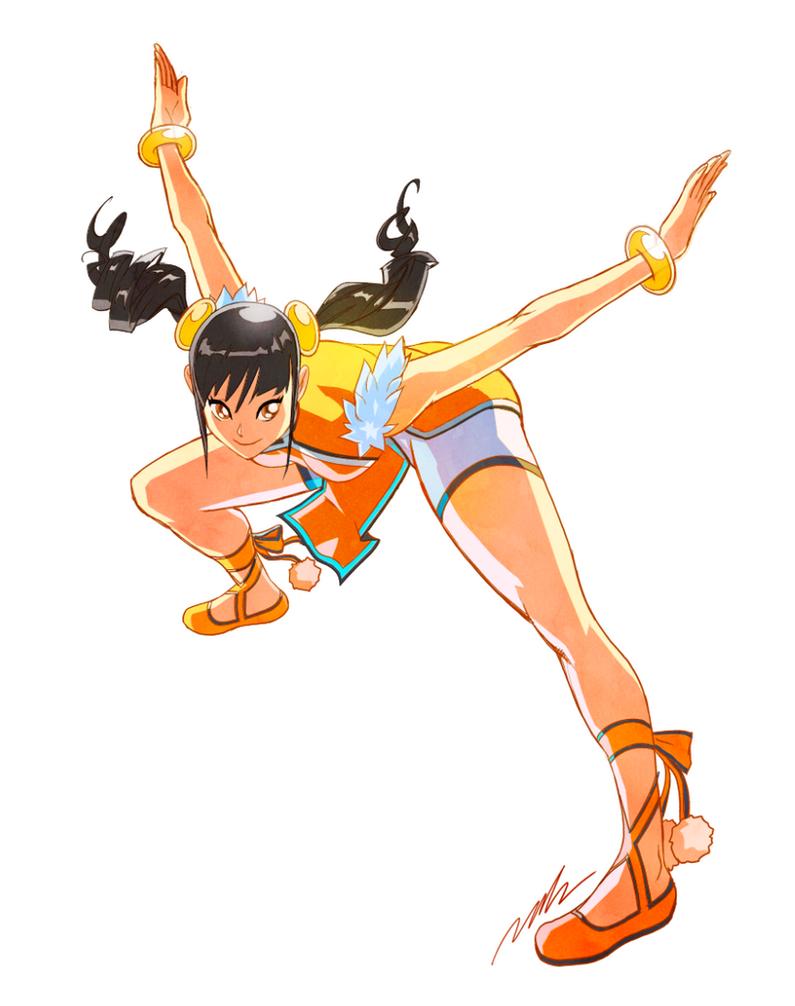 Xiaoyu Phoenix stance by Seeso2D