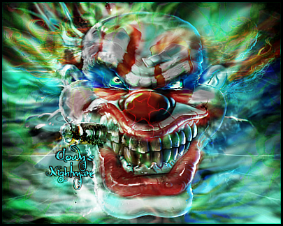 Clown's Nightmare Smudge by Chanse122