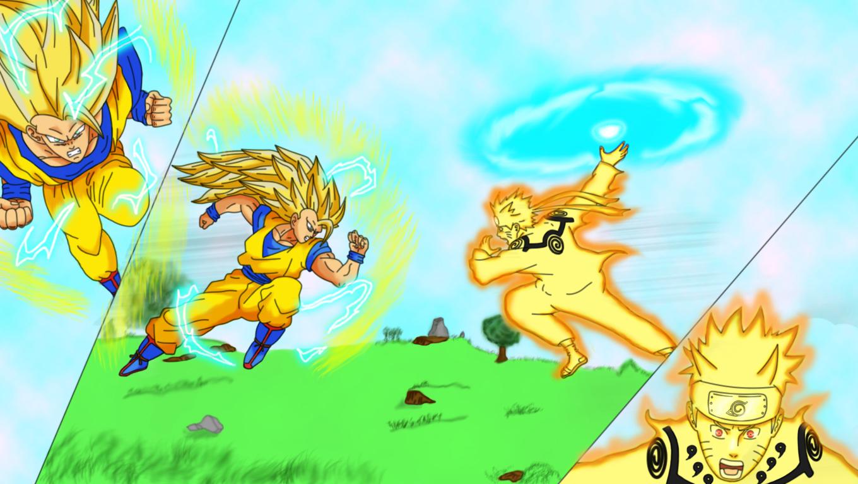 Simple Wallpaper Naruto Dbz - goku_vs_naruto_by_hayabusasnake-d4v2m41  Image_794923.jpg