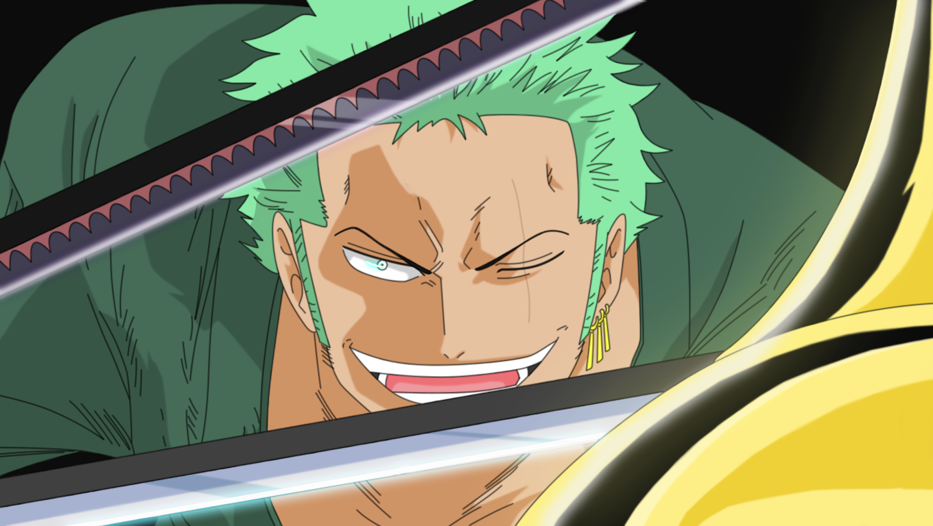 Zoro counter attack by HayabusaSnake