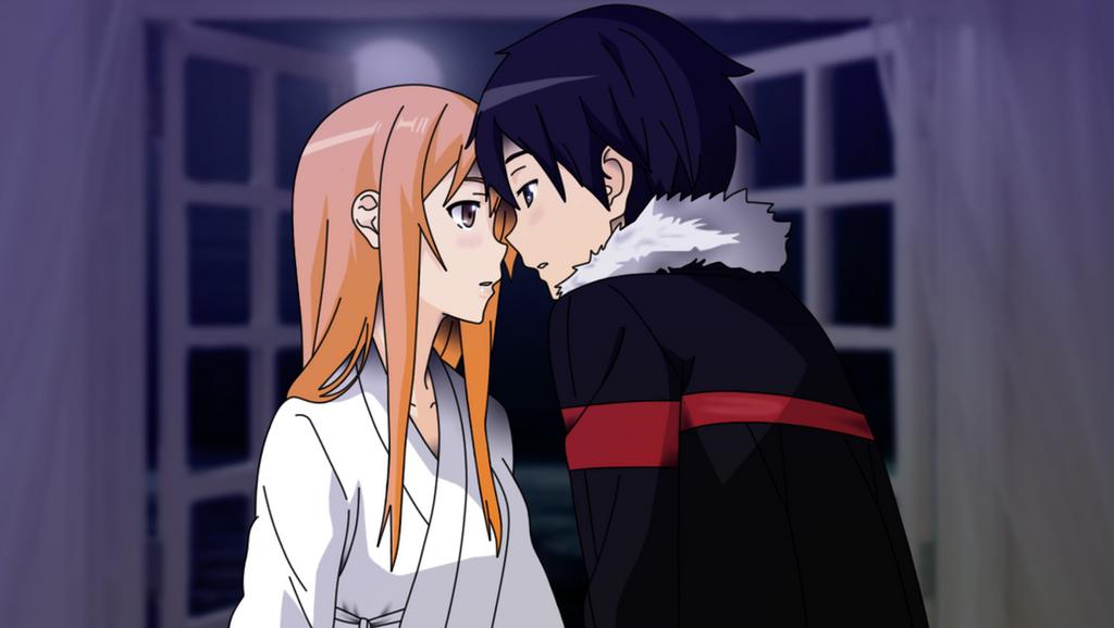 Asuna I'm here by HayabusaSnake