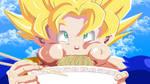 Sayan 's hungry by HayabusaSnake