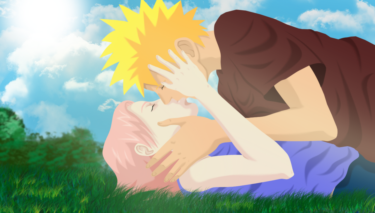Naruto and Sakura by HayabusaSnake on DeviantArt