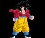 Goku SS4 by HayabusaSnake
