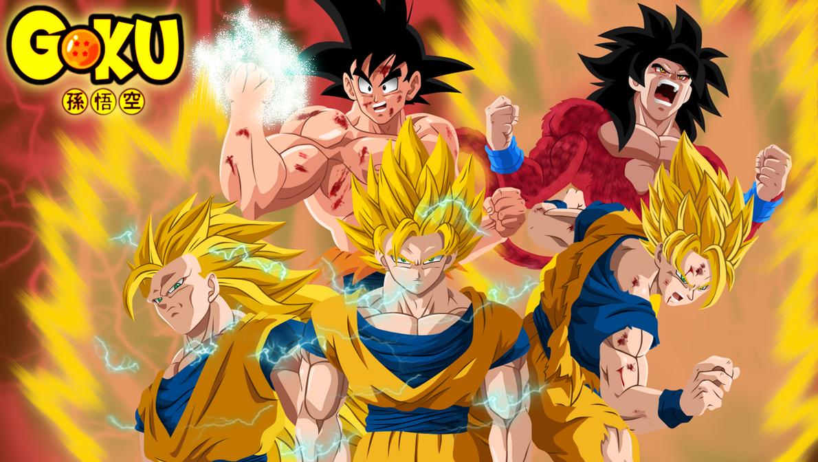 Goku evolution by HayabusaSnake