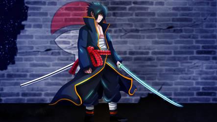 Sasuke by HayabusaSnake