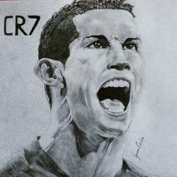 Cristiano Ronaldo by HayabusaSnake