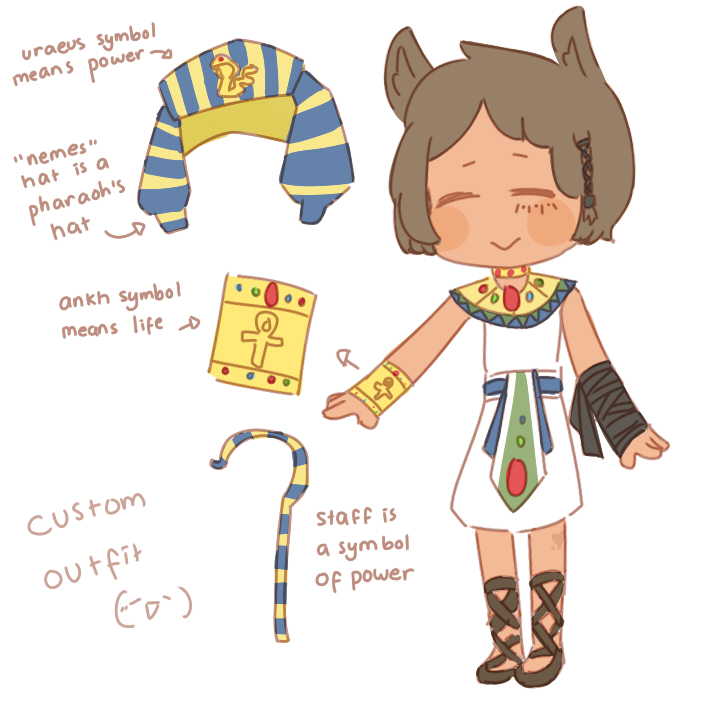Custom Outfit 8 Egypt Pharaoh Outfit By Nerdics On Deviantart