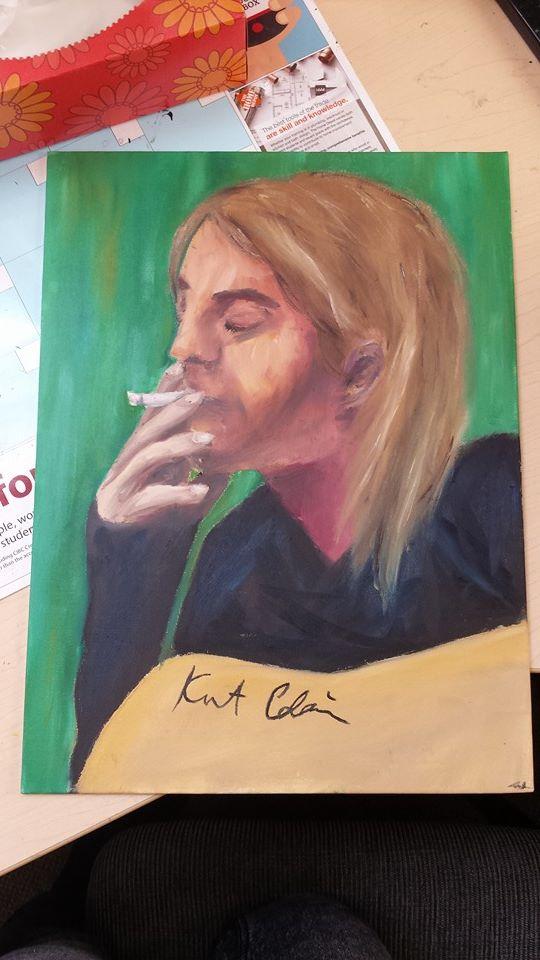 Kurt Cobain by SkullyLuv