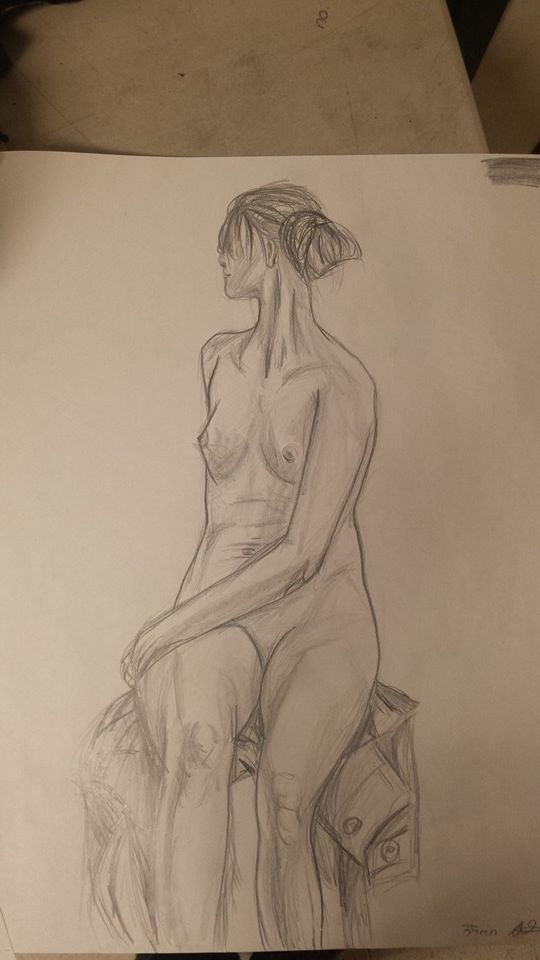 Nude Woman by SkullyLuv