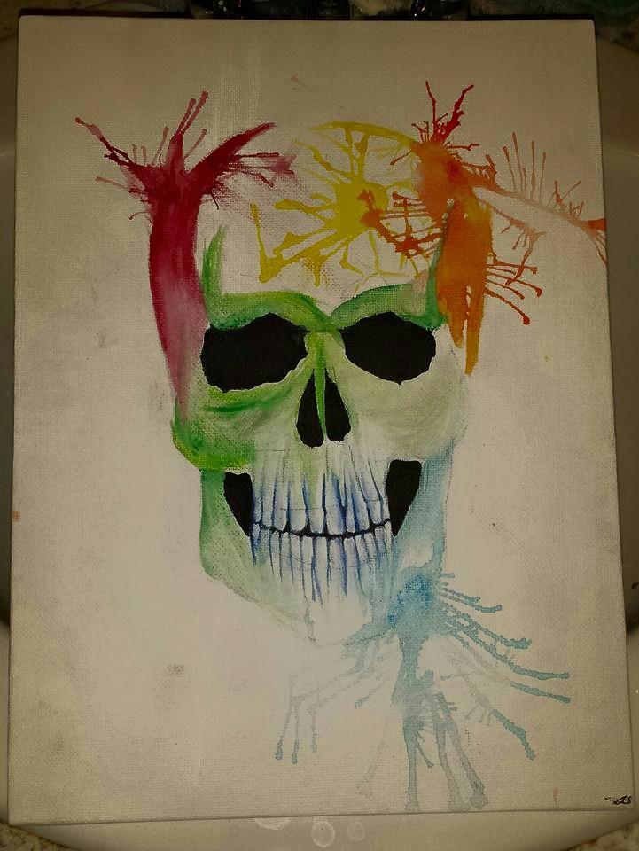 Bursting Skull by SkullyLuv