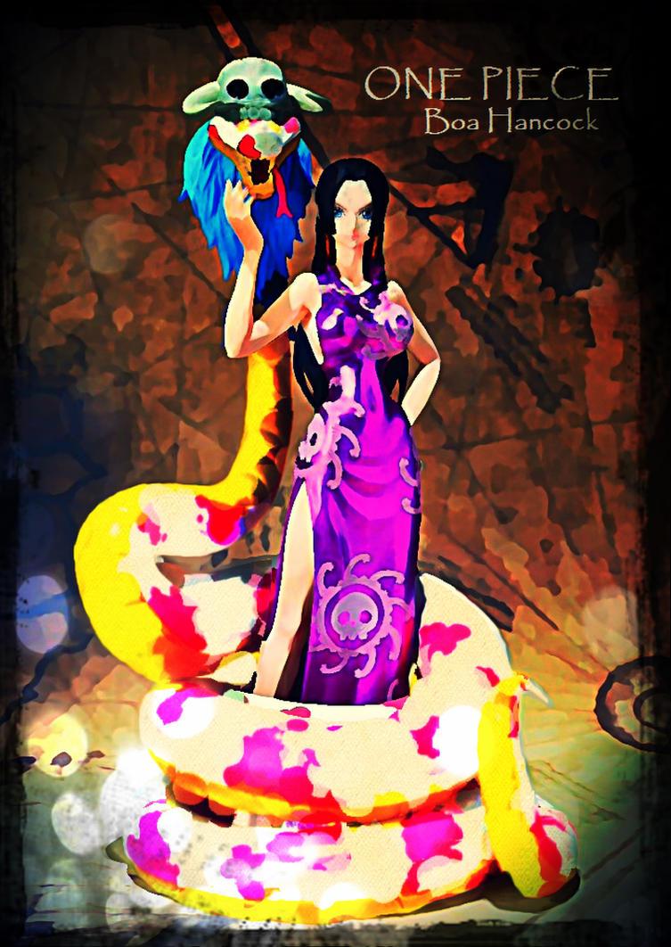 Gorgon Sisters One Piece ONE PIECE Pirate Empress Boa
