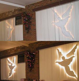 Light Angel Display