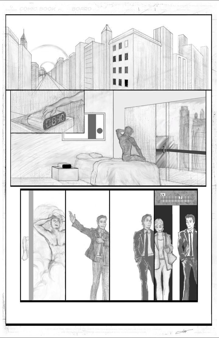 DC comics Workshop Submission Page 1 Comic by CoreyWayne