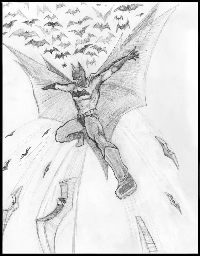 Batman DC comic Workshop Submission by CoreyWayne