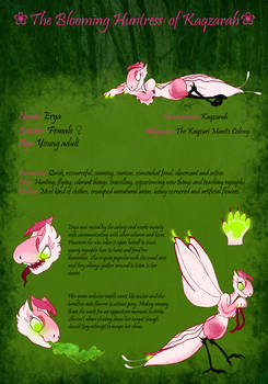 Erya - The Blooming Huntress of Kaqzarah