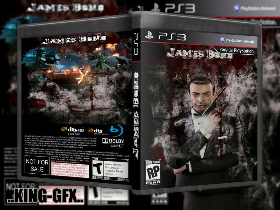 cover james bond new ps3 by hohogfx on deviantart. Black Bedroom Furniture Sets. Home Design Ideas