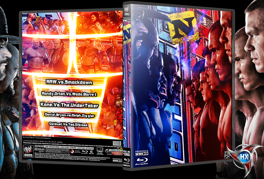 new wwe bragging rights 2010 dvd cover by hohogfx on