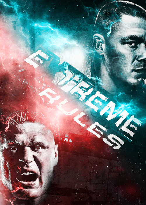 NEW WWE Extreme Rules 2012 POSTAR by hohogfx