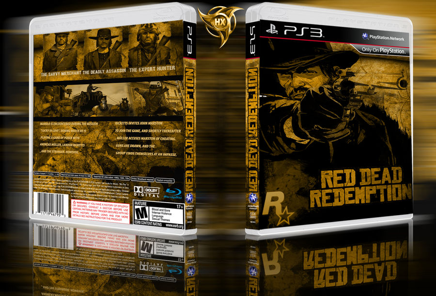 Red Dead Redemption ps3 cover by hohogfx on DeviantArt