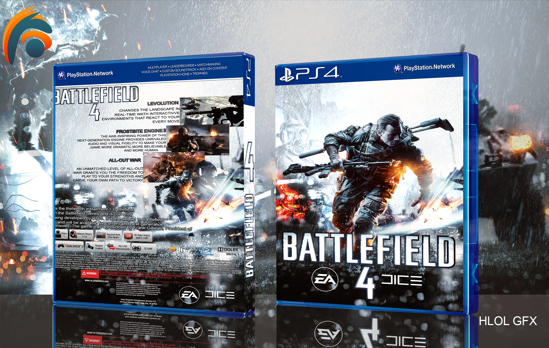 Battlefield 4 Box Cover ps4 by hohogfx on DeviantArt