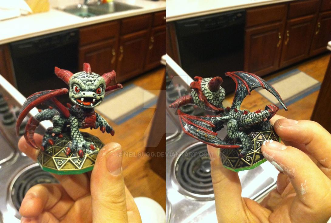 Skylanders: Demon Spyro by neilsugg