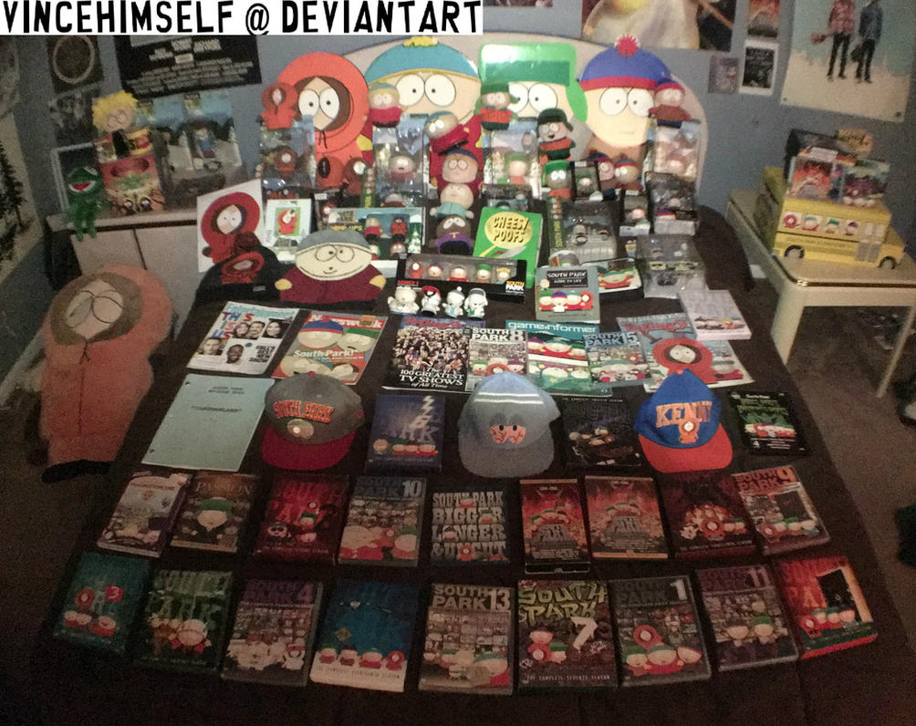 South Park - Merchandise Collection Update by vincehimself
