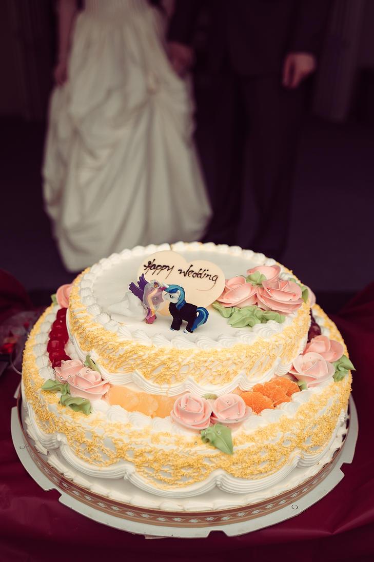 Cow Wedding Cake Topper