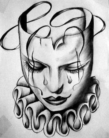 Cryin' Clown by sermyn