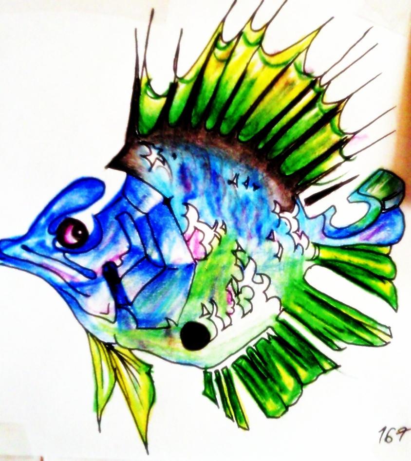 colorful fish by sermyn on DeviantArt
