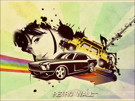 Retro wall by DeLyToO