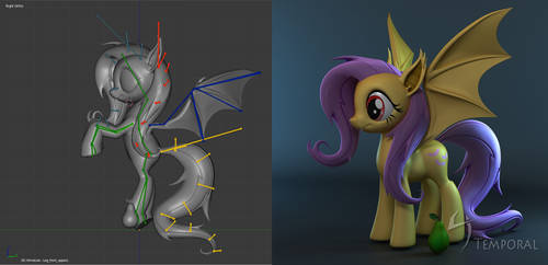Flutterbat WIP4 by Temporal333