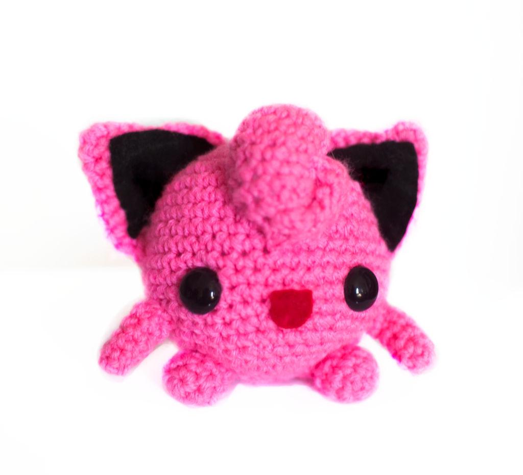 Jigglypuff Crochet Tutorial part1 - YouTube | 931x1024