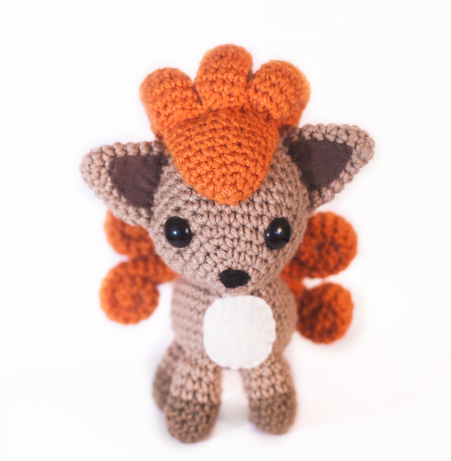Moon Amigurumi Pattern Free : Vulpix Amigurumi by tiny-moon on DeviantArt