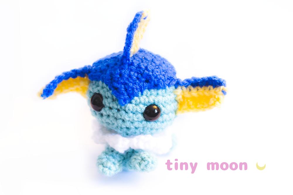 Vaporeon Amigurumi by tiny-moon