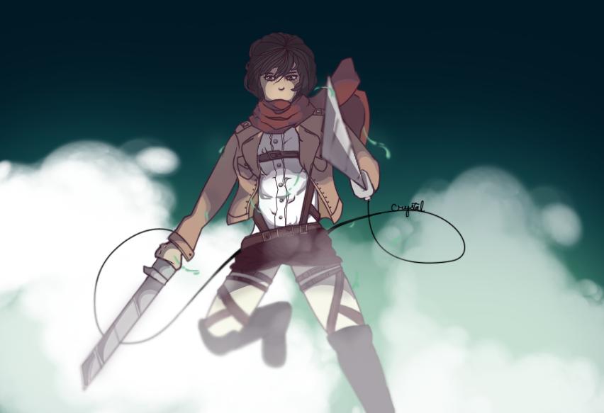 Mikasa Ackerman by FaithTheArtist