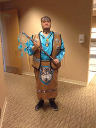 Anishinaabe dance outfit-incomplete by MichiganWolf