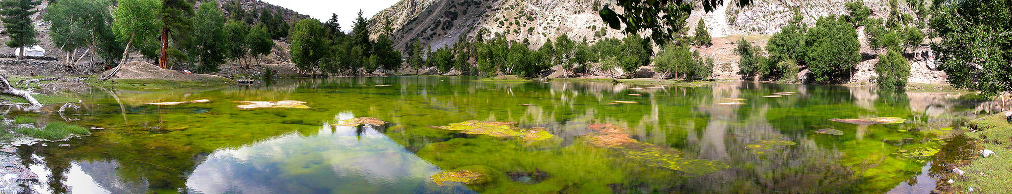 Green Lake in Naltar