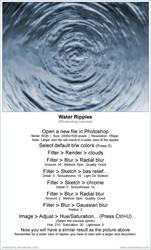 Water ripples tutorial