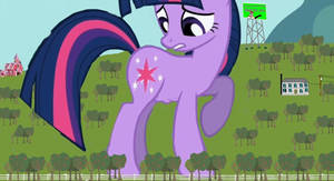 Twilight's colossal Hunger in Lilliput