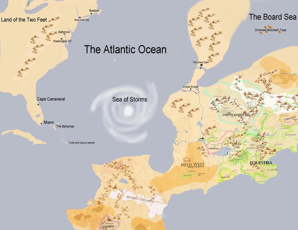 Map World Oil Reserves%0A     Fan Map Of Equestria on map of morningside  map of alagaesia  map of  cornwall