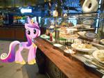 Princess Cadence and the cruise ship buffet