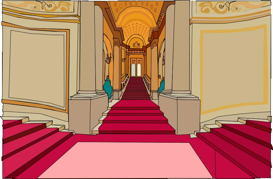 Hallways of Lilliput castle by OceanRailroader