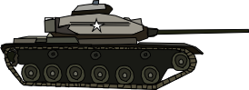 M60 Patton Tank by OceanRailroader