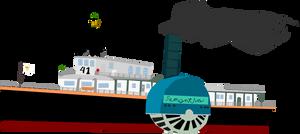 1880's Classic Steam Ship