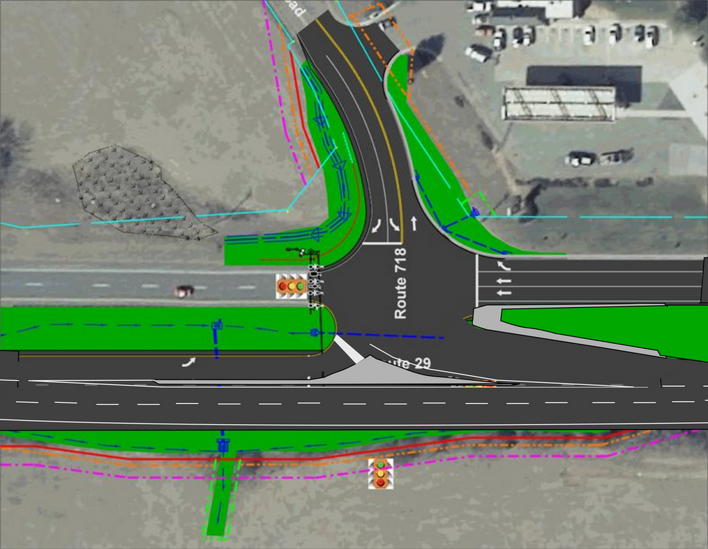 Uncontrolled T Intersection My Idea to Vdot for a ...