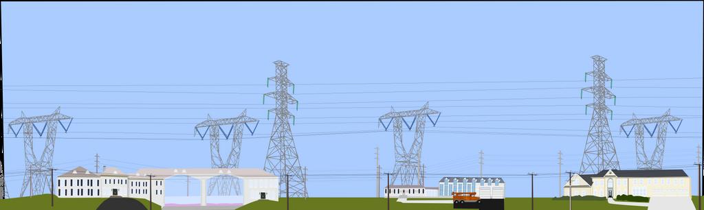 A Power Easement runs behind it by OceanRailroader